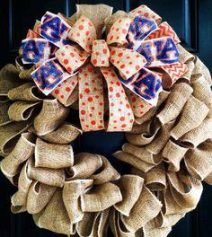 Auburn Wreath War Eagle