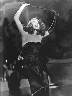 Jean Louis, Rita Hayworth in Gilda directed by Charles Vidor, 1946