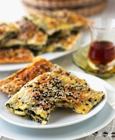 Spinach and Feta Cheese Borek : I wonder if it would be a sin to use gluten-free crepes as Borek layers?