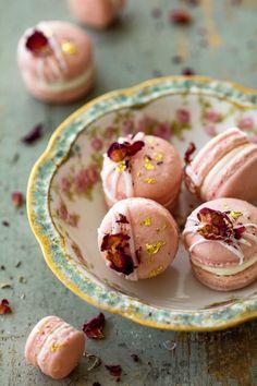 """ Jasmine Rose Macarons """