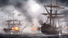 Action Packed Ship Combat - Sails of War