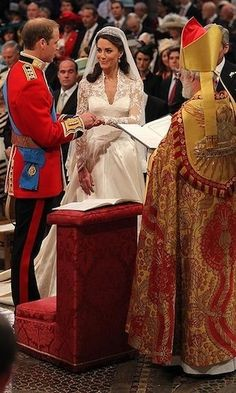 Prince William presented his bride with a ring. Photo: Getty Images