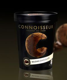 The Dieline Package Design Award 2010: First Place, Food C, Connoisseur Ice Cream 2010