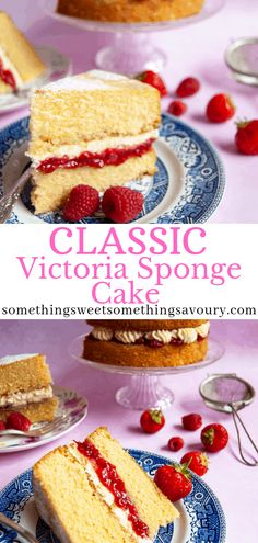 National Sponge Cake Day is August 23rd! This seems like the perfect way to celebrate!