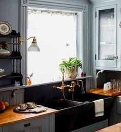 современная кухня-раковина набор-кухня-поглотители-двойник