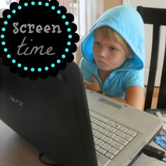 great post on limiting screen time for kids. why, how to and what to do now