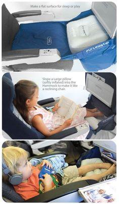 Kids Fly LegsUp - Flight Hammock for Children
