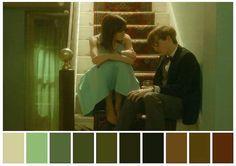 great films using green color Movie Color Palette, Colour Pallette, Palette Art, Thelma Y Louise, Cinema Colours, Color In Film, Color Script, Film Inspiration, Color Harmony