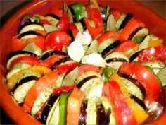 recette Tian de légumes froid