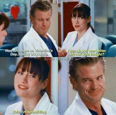 They were meant to be. I feel so so soo sorry for them Greys Anatomy Episodes, Greys Anatomy Characters, Greys Anatomy Memes, Grey Anatomy Quotes, Grays Anatomy, Grey Quotes, Tv Quotes, Movie Quotes, Mark Sloan