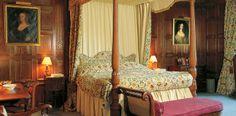 Bedroom, Levens Hall, UK.