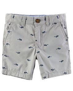 Toddler Boy Sunglasses Print Flat-Front Twill Shorts from Carters.com. Shop clothing & accessories from a trusted name in kids, toddlers, and baby clothes.