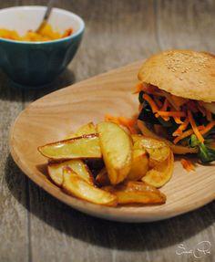 Rauchburger mit Mangochutney - SweetPie