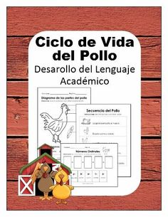 Science Pack - Chicken Lifecycle in Spanish - Ciclo de Vida del Pollo product from NicoleAndEliceo on TeachersNotebook.com