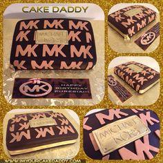 Michael Kors clutch birthday cake.