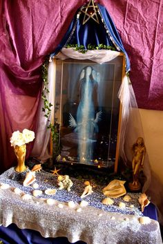 Main altar of Moon Goddess