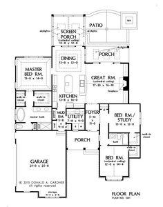 2000 sq ft. homes plans | american under 2,000 sq. ft. (hwbdo65064