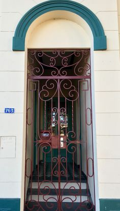 Portal antiguo de Asunción -Paraguay