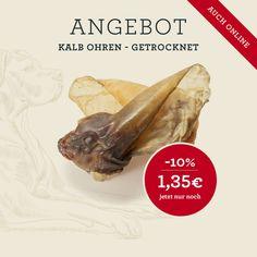 Kalb Ohren - getrocknet