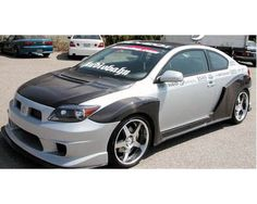 (Limited Supply) Click Image Above: Ait K1 Style Wide Body Body Kit - Full Kit W/ Carbon Fiber Fenders  Side Skirts [04-06 Scion Tc]