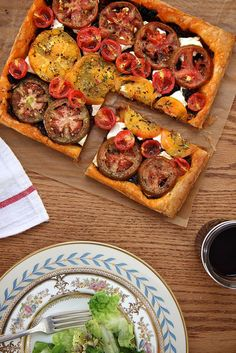 heirloom tomato tart // joy the baker