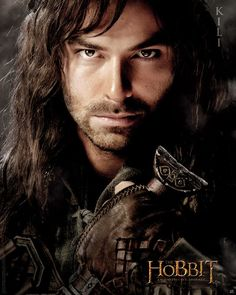 Poster affiche The Hobbit Kili 40 x 50 cm