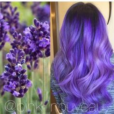 lavender hair #purple #hair