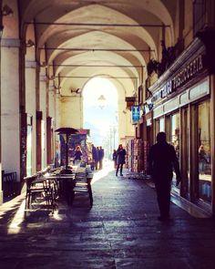 I nostri portici. Torino, via Po.