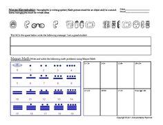 math worksheet : math worksheet mayan numbers and calendars examples of problems  : Mayan Math Worksheets
