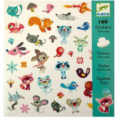 DJECO 160 Stickers - Little Friends