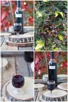 nalewka jeżynowa Wine Drinks, Decoupage, Food And Drink, Table Decorations, Canning, Recipes, Love, Home Canning, Rezepte