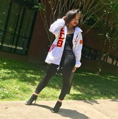 Spring 18 Soror of Eta Kappa Chapter of Spelman College Delta Sigma Theta Apparel, Kappa, Spelman College, Red Chucks, Delta Girl, Omega Psi Phi, Sorority Outfits, Sorority And Fraternity, Event Dresses
