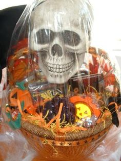 No Tricks...Only Treats (Halloween Bucket with Candy) Help get a ...