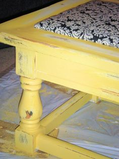 A { Blonde's } DIY Life: Finally a finished furniture redo!