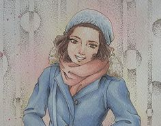 """Check out new work on my @Behance portfolio: """"Manga Portrait- commission"""" http://on.be.net/1QelyFR"""