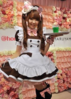 Kawaii-B Blogger: Kawaii-B All About: Maid cafes