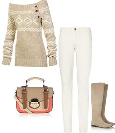 Winter Neutral - digging the sweater!
