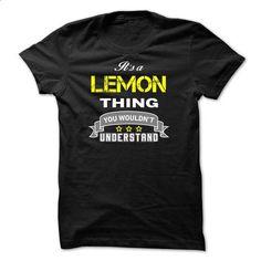 Its a LEMON thing. - #checked shirt #sweater refashion. MORE INFO => https://www.sunfrog.com/Names/Its-a-LEMON-thing-C1DD8D.html?68278