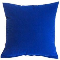 Amazon.com - Royal Blue Solid Color Flocking Velvet 100% Polyester Throw Pillow Covers Pillowcase Sham Decor Cushion Slipcovers Square 19x19...