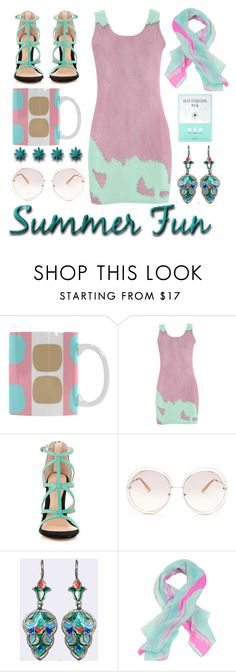 """""""Summer fun"""" by pepitarita ❤ liked on Polyvore featuring ALDO, Chloé, Liz Nehdi and Forever 21"""
