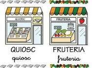 Resultado de imagen para fichas de tiendas para colorear
