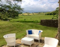 Step onto our spa terrace and take in the outstanding views of the Dales #DevonshireArms #spa #Yorkshire #view #relax #unwind #wellness #travel #spaday #beauty #countryside #YorkshireDales