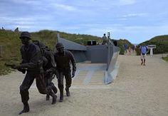 Kuva: U.S. soldiers landing on Utah Beach