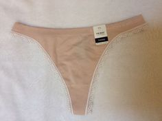 1 ELLE MACPHERSON intimates Ladies THONG/ STRING knickers 7/L BNWT RRP$12 TAPE