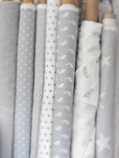50 shades of grey in the a little corner in our workroom today at PEONY & SAGE HQ x www.peonyandsage.com for the love of linen x