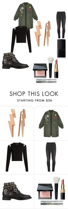 """Sin título #399"" by maiatomlinson on Polyvore featuring moda, Bee Goddess, WithChic, Proenza Schouler, Citizens of Humanity, Yves Saint Laurent, Bobbi Brown Cosmetics y NARS Cosmetics"