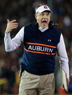 Auburn head coach Gus Malzahn