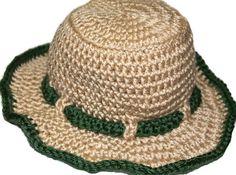 Crochet Fisherman Hat Photo Prop Fly Fishing Hat Photography Prop Baby Boy Fish Hat Prop Newborn Baby Sunhat, on Etsy- $18.00