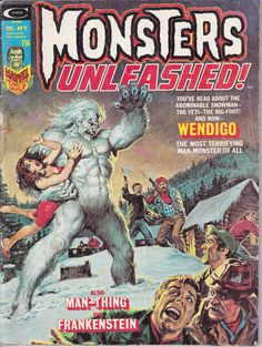 Monsters Unleashed 9 November 1974 Issue  Marvel by ViewObscura
