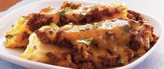 Mexican Manicotti -- Pasta shells stand in for taco shells in this cheesy, beefy, change-of-pace main dish.